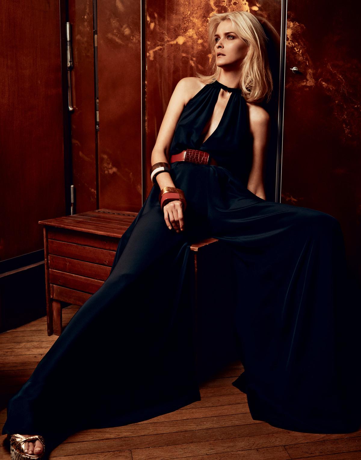 "Harpers Bazaar Japan, ""Gold Dust Woman"""