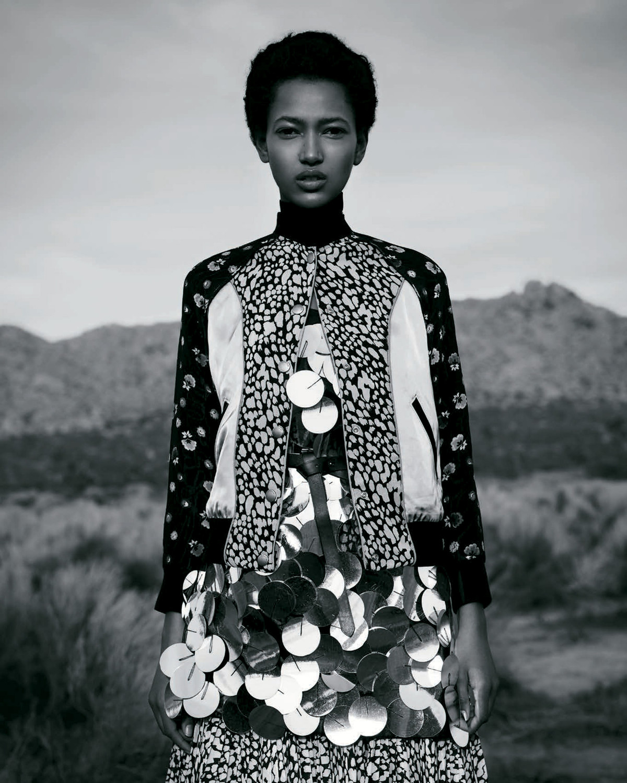 "Harpers Bazaar Japan, ""Culture Clash"""